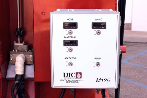 M125 CONTROL BOX AND PUMP